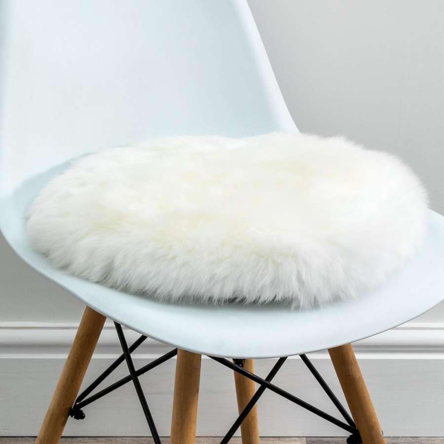 Sheepskin chair pads