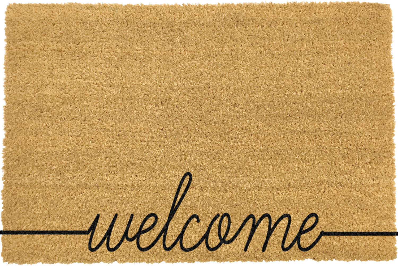 Welcome design rural  house larger size doormat