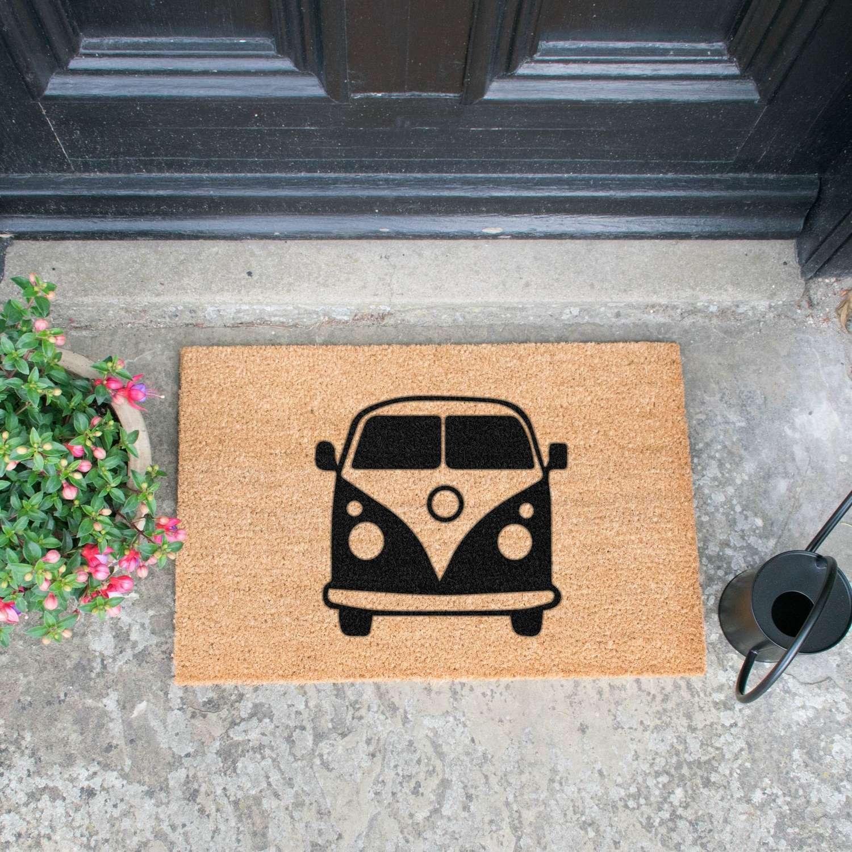 Campervan design standard size doormat