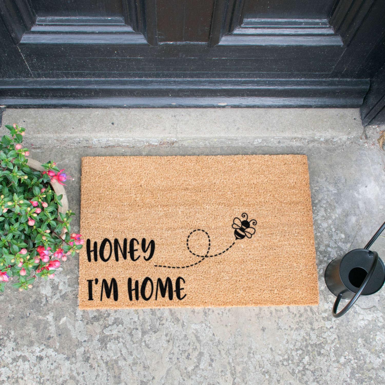 Honey I'm home design standard doormat